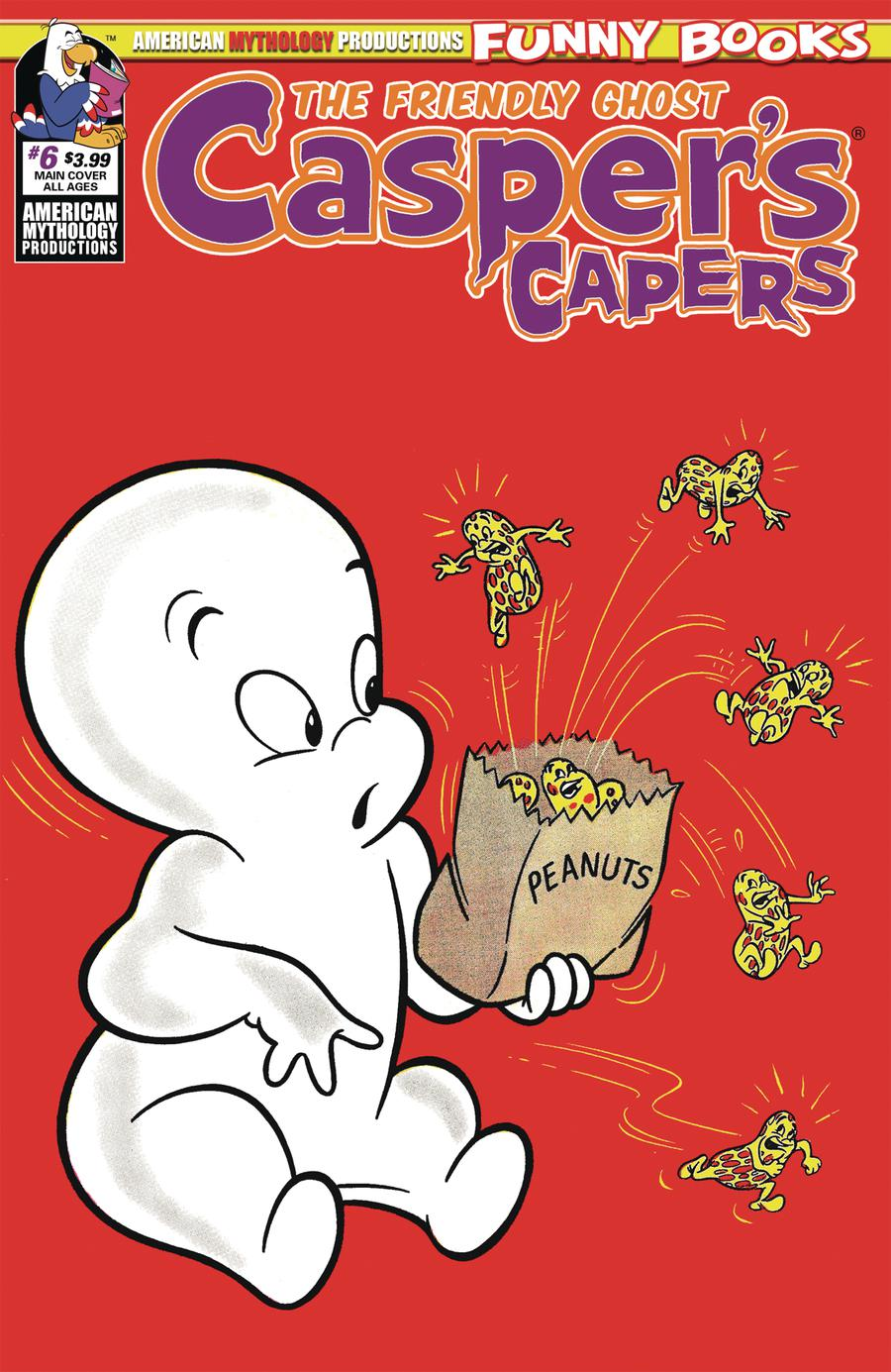 Caspers Capers #6 Cover A Regular Cover