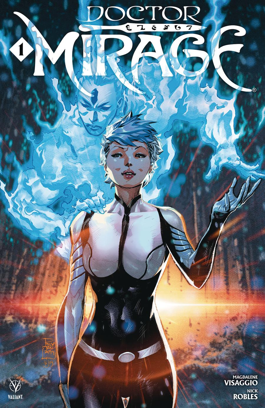 Doctor Mirage #1 Cover A Regular Philip Tan Cover