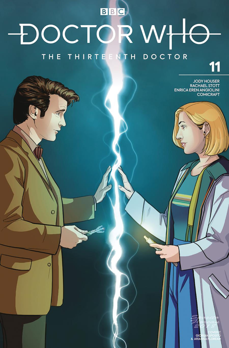Doctor Who 13th Doctor #11 Cover C Variant 11th Doctor Cover
