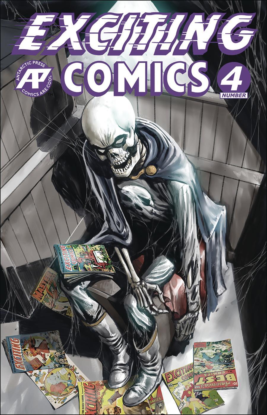 Exciting Comics Vol 2 #4 Cover A Regular David Hutchison Cover