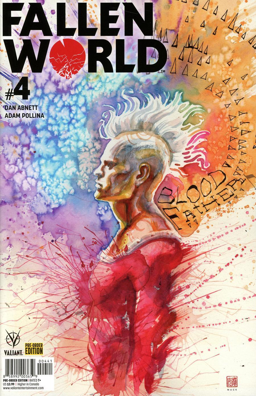 Fallen World #4 Cover D Variant David Mack Cover