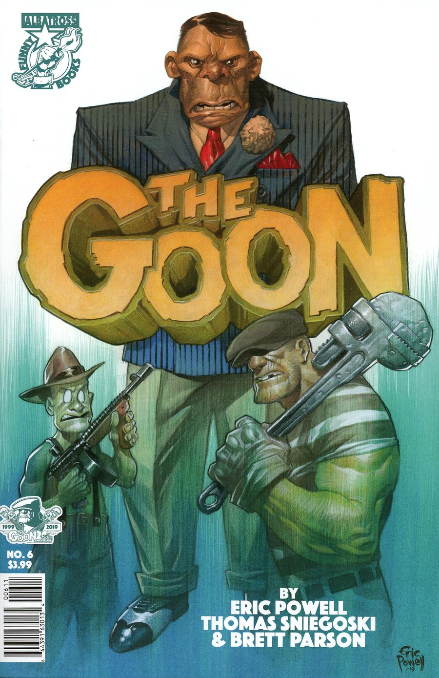Goon Vol 4 #6 Cover A Regular Eric Powell Cover