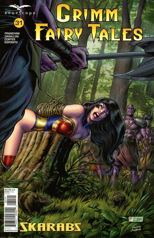Grimm Fairy Tales Vol 2 #31 Cover D Josh George