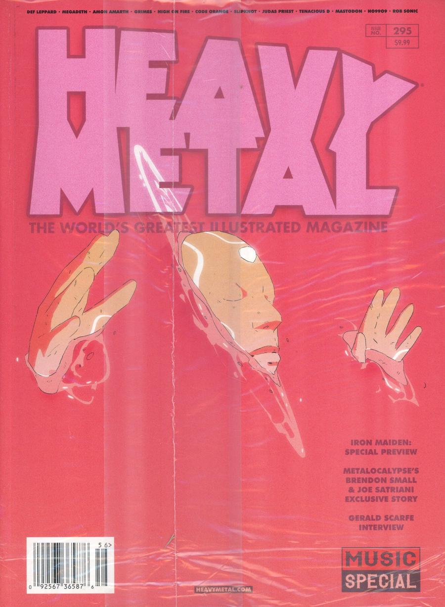 Heavy Metal #295 Cover D Victor Mosquera