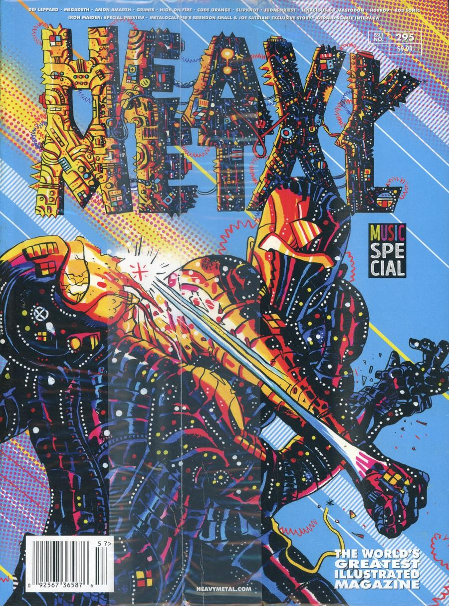 Heavy Metal #295 Cover E Nick Pyle
