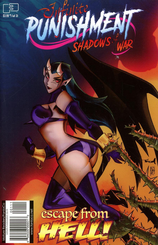 Infinite Punishment Shadows Of War #1 Cover A Regular Marcelo Trom Color Cover