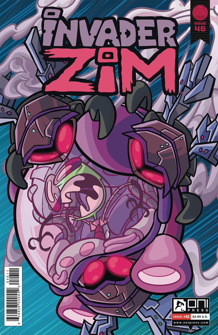Invader Zim #46 Cover A Regular Maddie C Cover