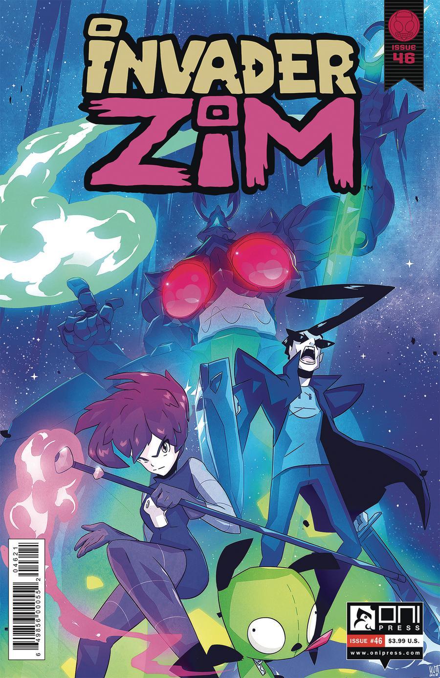 Invader Zim #46 Cover B Variant Simon Troussellier Cover