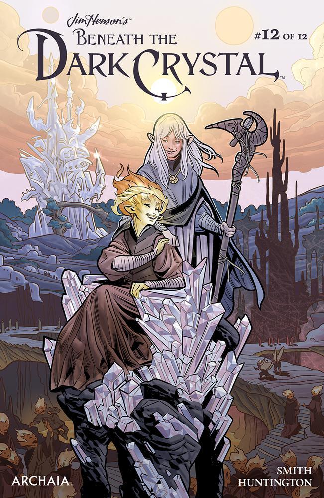 Jim Hensons Beneath The Dark Crystal #12 Cover A Regular Benjamin Dewey Cover