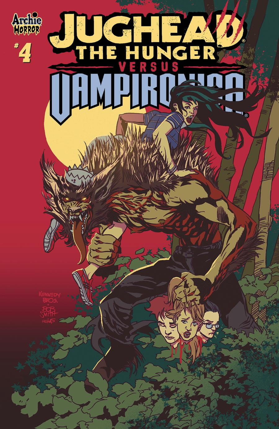 Jughead The Hunger Versus Vampironica #4 Cover A Regular Pat Kennedy & Tim Kennedy Cover