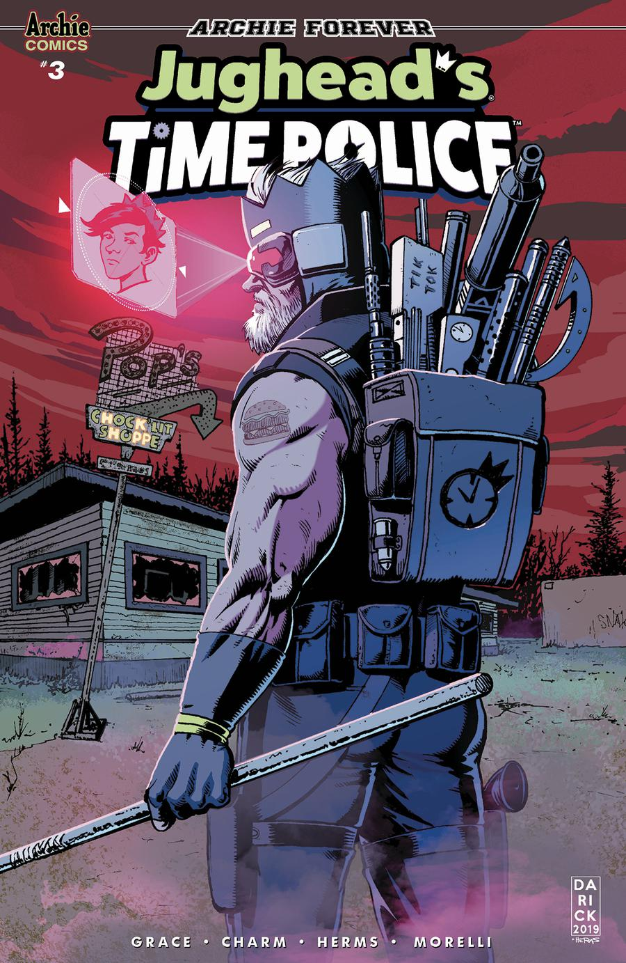 Jugheads Time Police Vol 2 #3 Cover C Variant Darick Robertson Cover