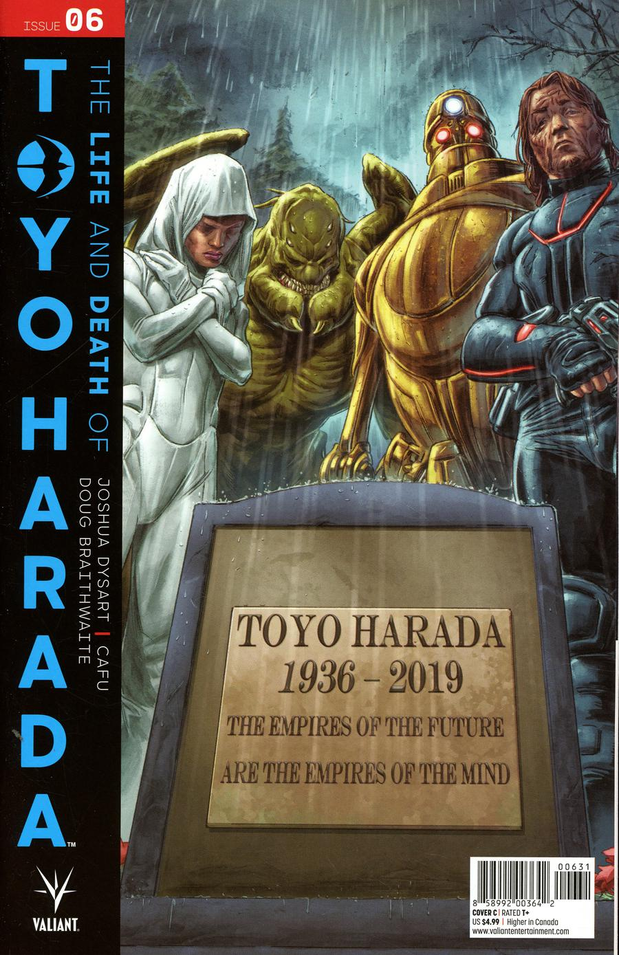 Life And Death Of Toyo Harada #6 Cover C Variant Doug Braithwaite Cover