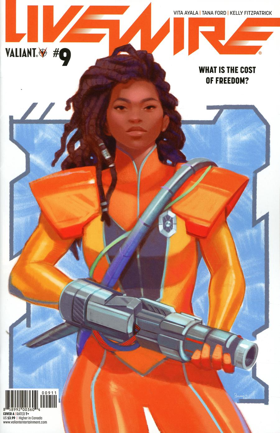 Livewire #9 Cover A Regular Stacey Lee Cover
