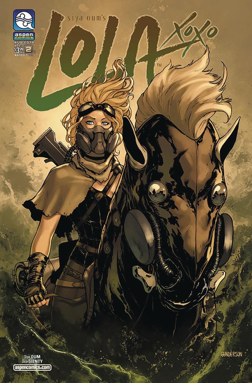 Lola Xoxo Vol 3 #2 Cover B Variant Jordan Gunderson Cover