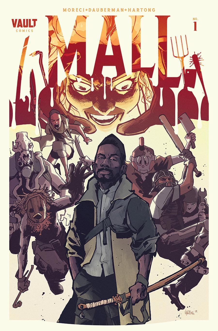 Mall (Vault Comics) #1 Cover A Regular Zak Hartong Cover