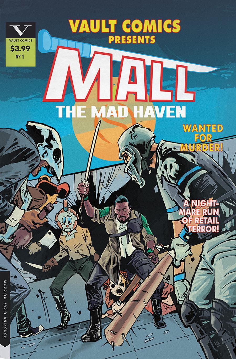 Mall (Vault Comics) #1 Cover B Variant Nathan Gooden & Tim Daniel Cover