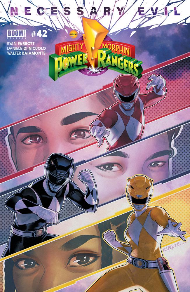 Mighty Morphin Power Rangers (BOOM Studios) #42 Cover A Regular Jamal Campbell Cover