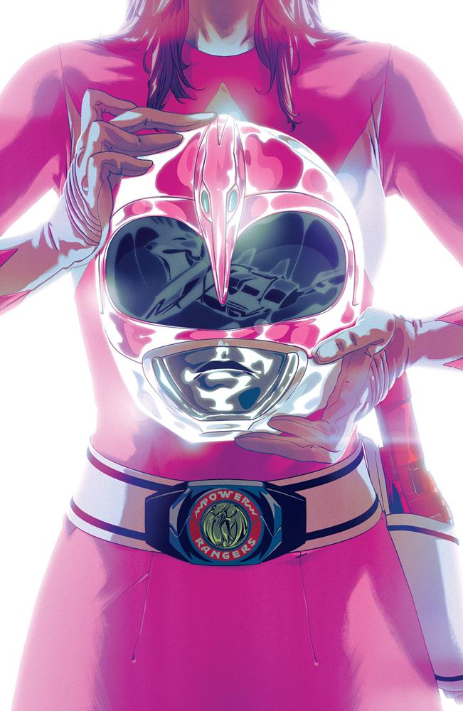 Mighty Morphin Power Rangers (BOOM Studios) #42 Cover B Variant Goni Montes Foil Cover