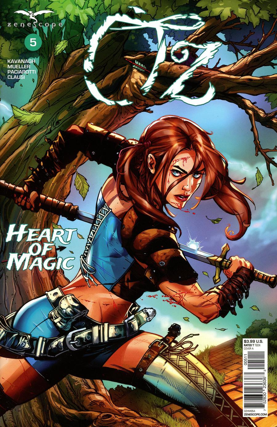Grimm Fairy Tales Presents Oz Heart Of Magic #5 Cover A Drew Edward Johnson