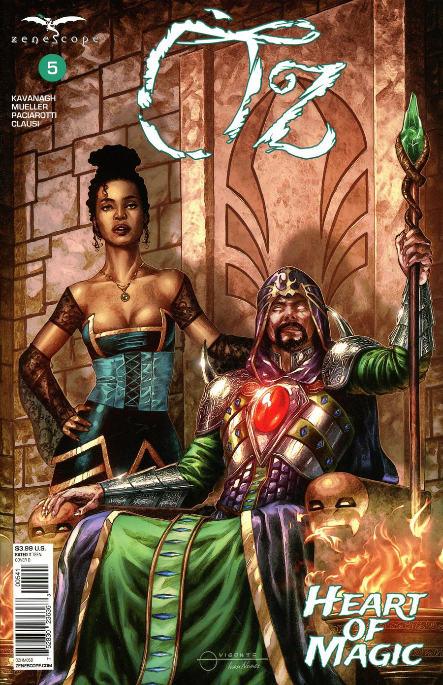 Grimm Fairy Tales Presents Oz Heart Of Magic #5 Cover D Geebo Vigonte