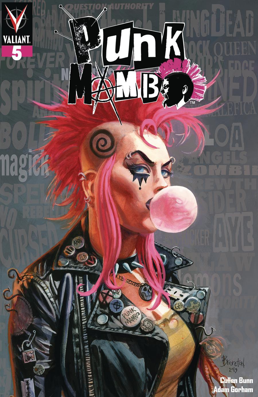 Punk Mambo #5 Cover A Regular Dan Brereton Cover
