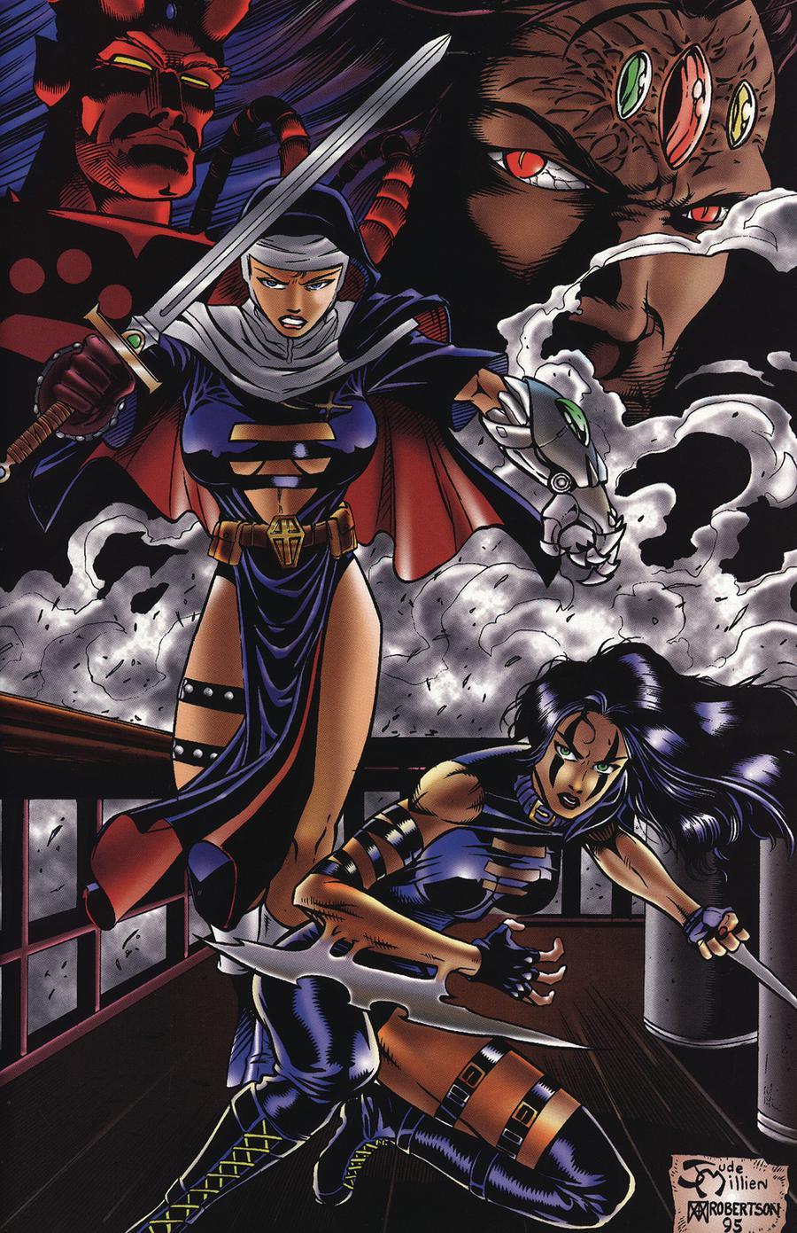 Razor Warrior Nun Areala #1 Cover B Commemorative Cover