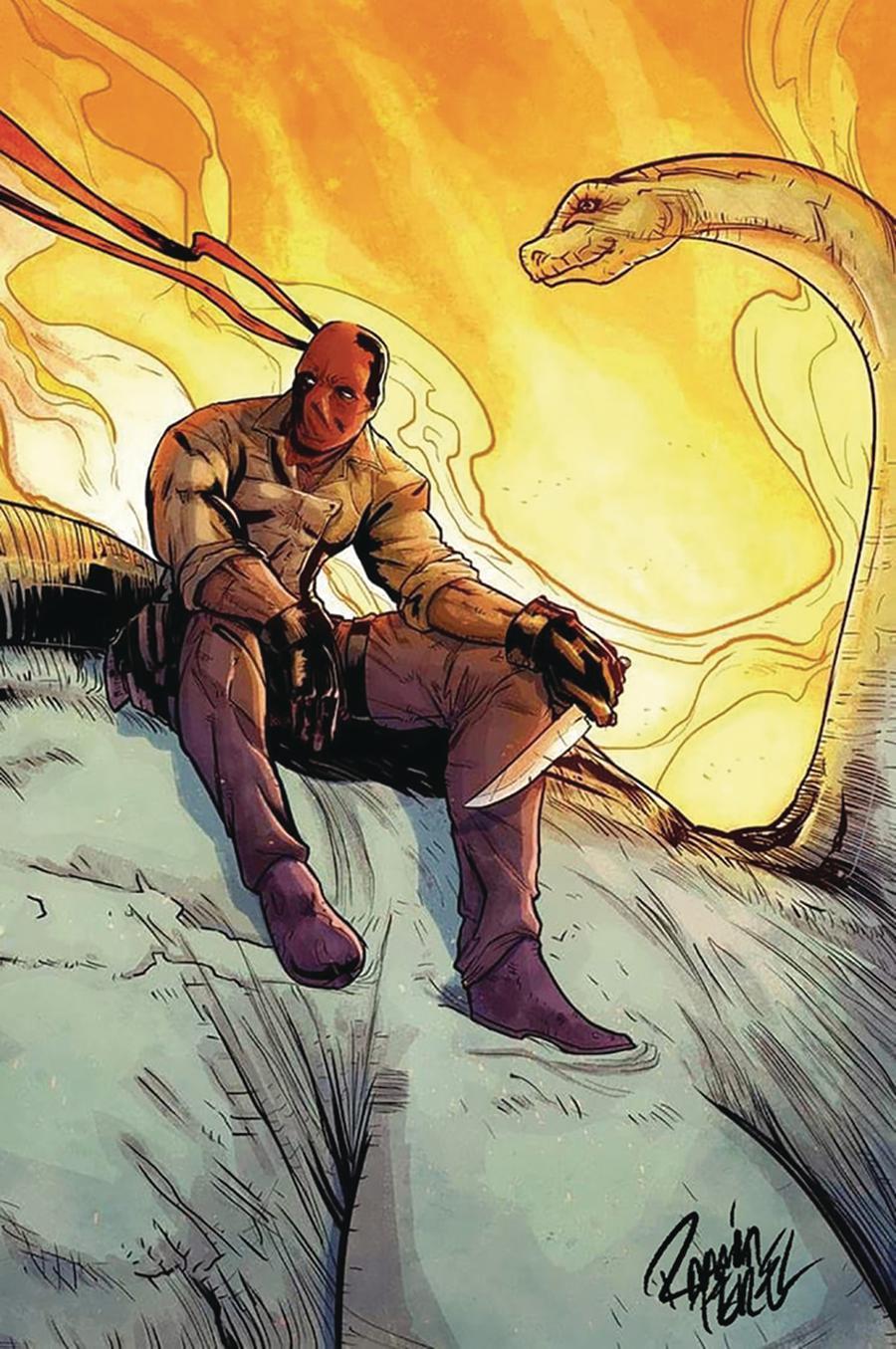 Red Range Pirates Of Fireworld #1 Cover D Ramon Perez