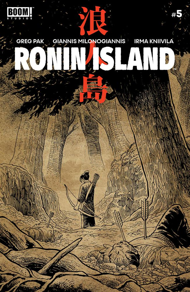 Ronin Island #5 Cover B Variant Ethan Young Preorder Cover