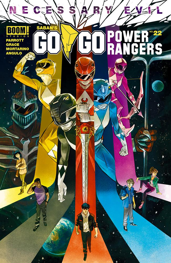 Sabans Go Go Power Rangers #22 Cover A Regular Ivan Shavrin Cover