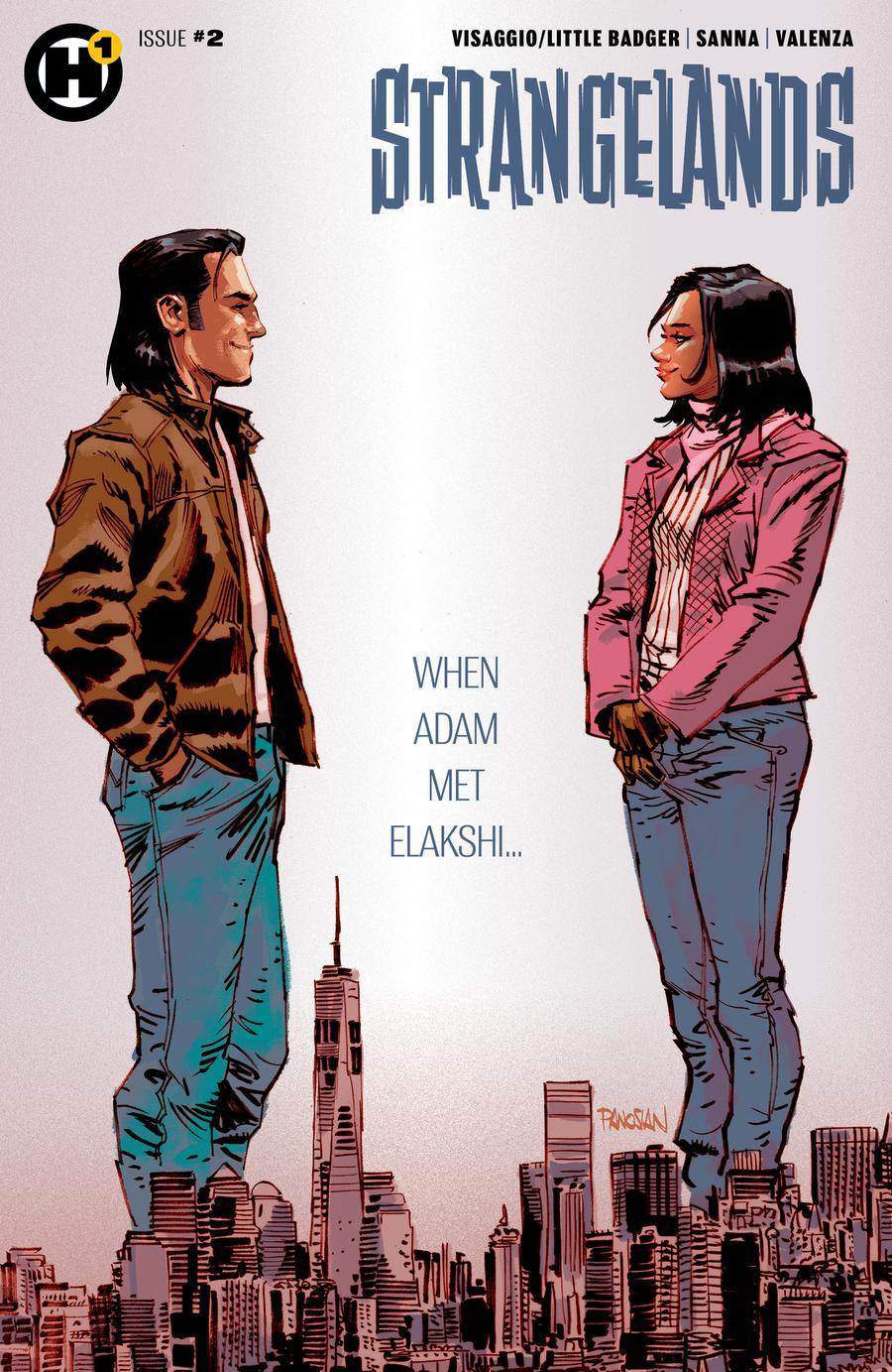 Strangelands #2 Cover B Variant Dan Panosian Cover