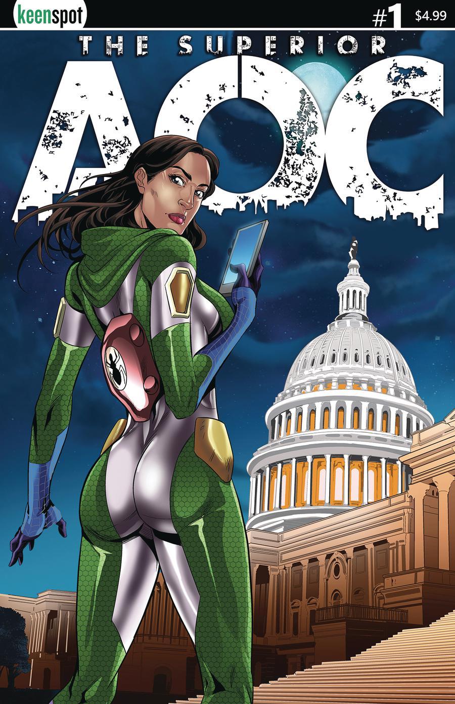 Superior AOC #1 Cover A Regular Mel Joy San Juan Cover