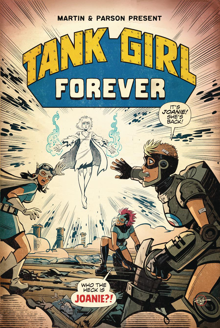 Tank Girl Vol 3 #6 Cover A Regular Brett Parson Cover