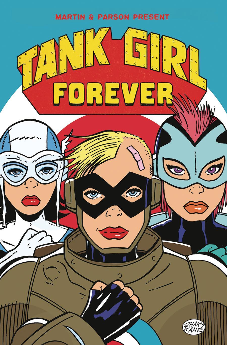 Tank Girl Vol 3 #6 Cover C Variant Shaky Kane Cover