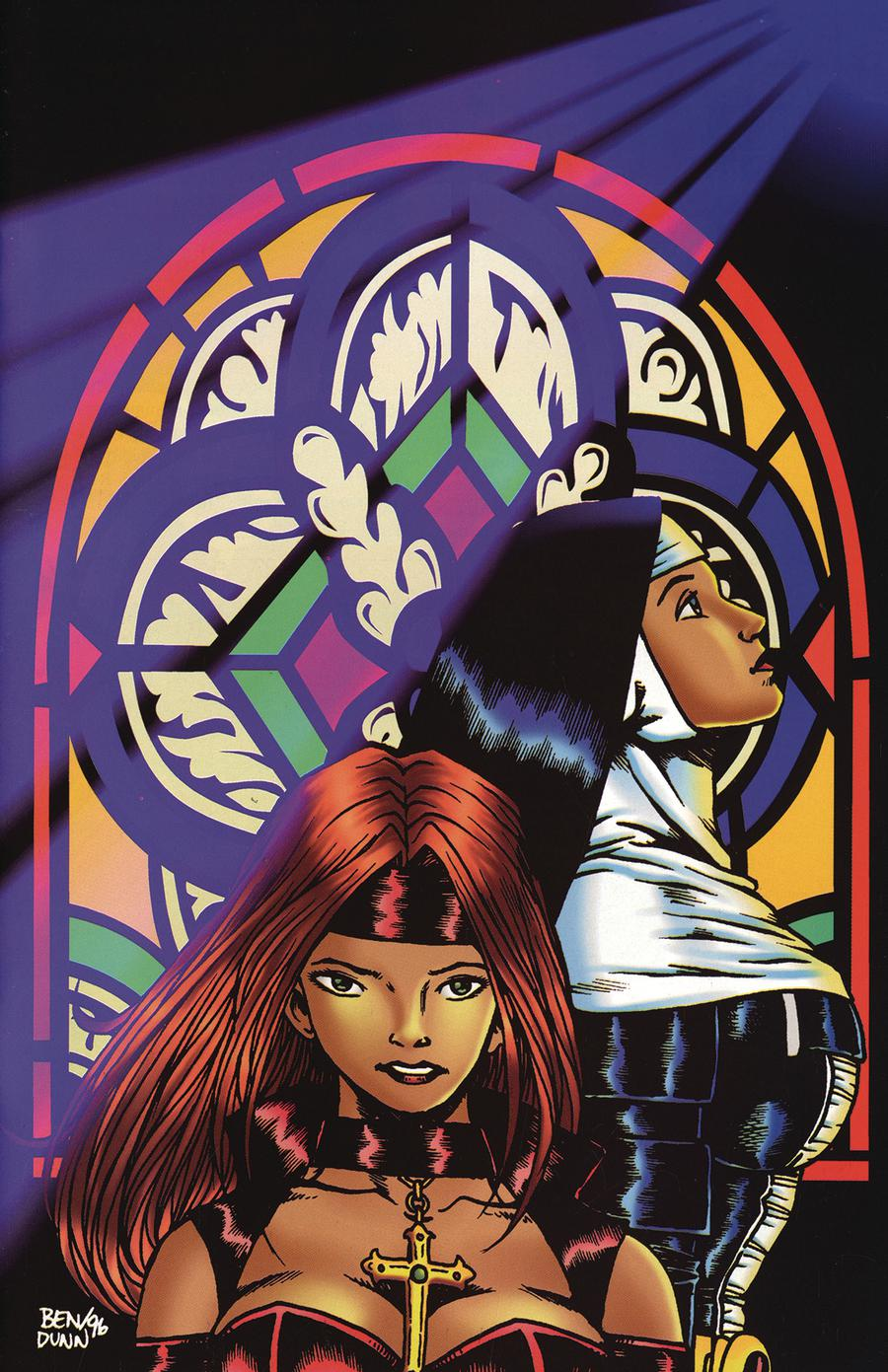 Warrior Nun Areala And Avengelyne 1996 #1 Cover B Commemorative Cover