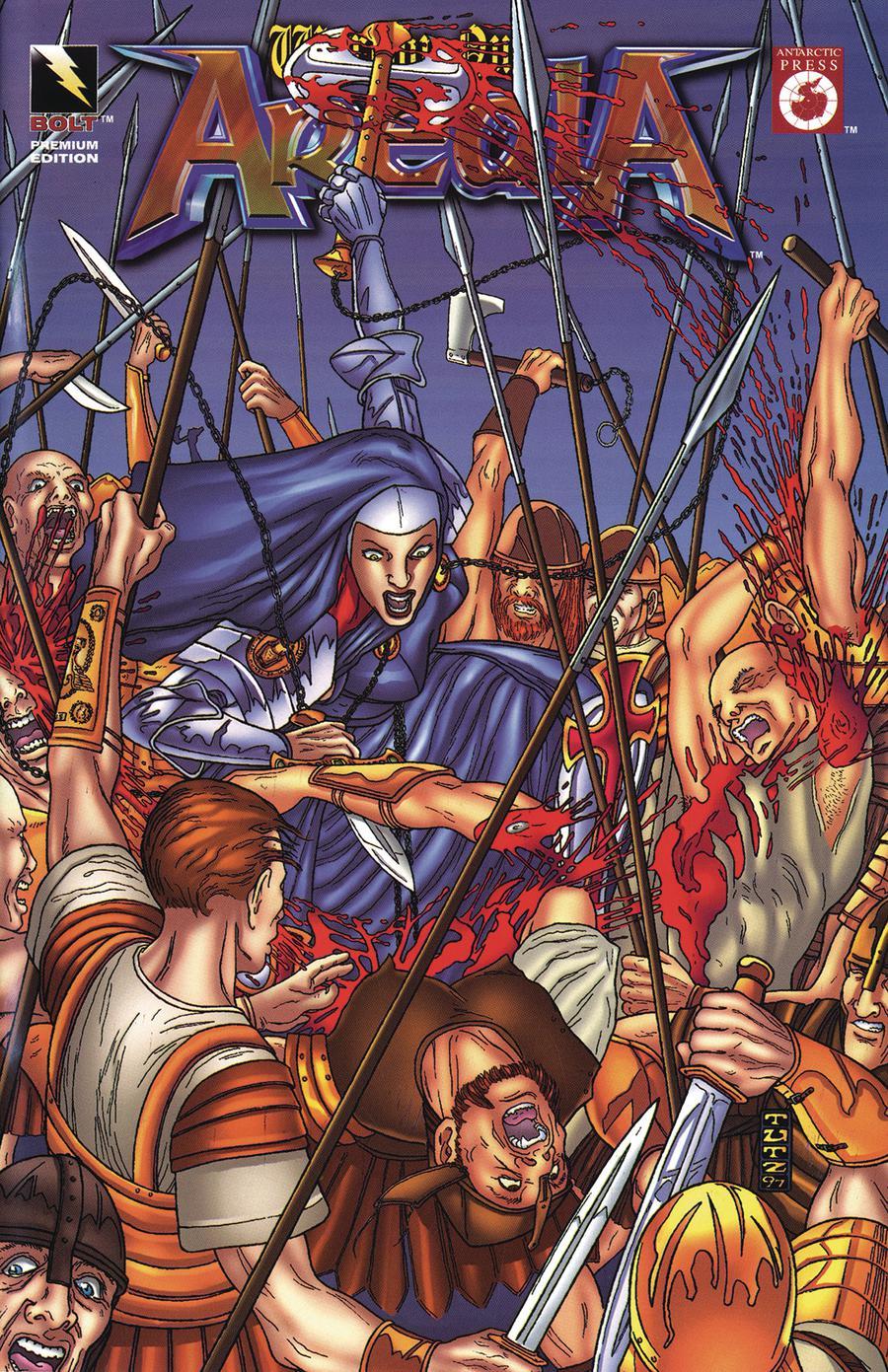 Warrior Nun Areala #1 Cover E Bolt Premium Cover