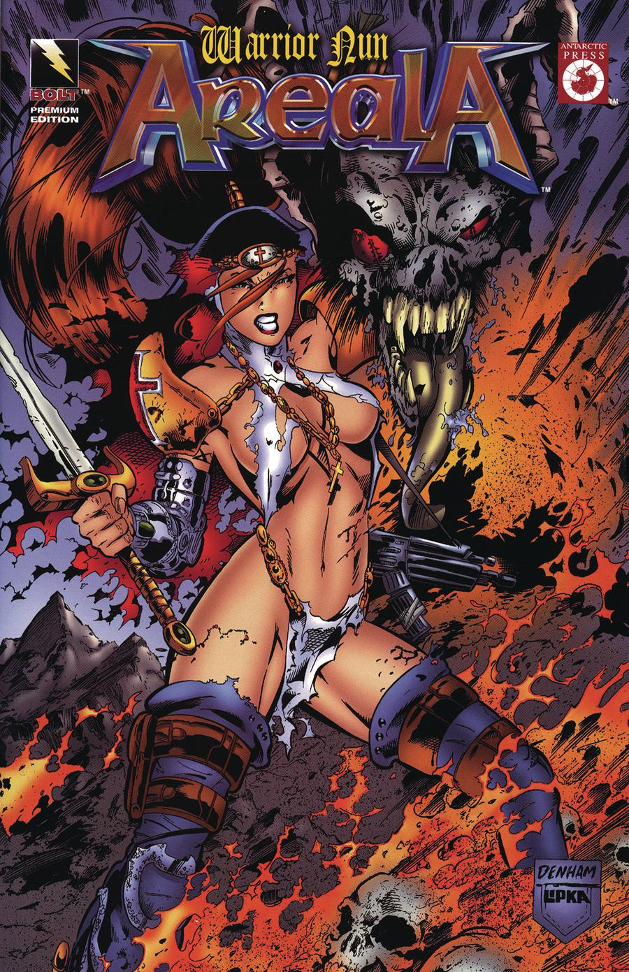 Warrior Nun Areala #1 Cover C Bolt Cover