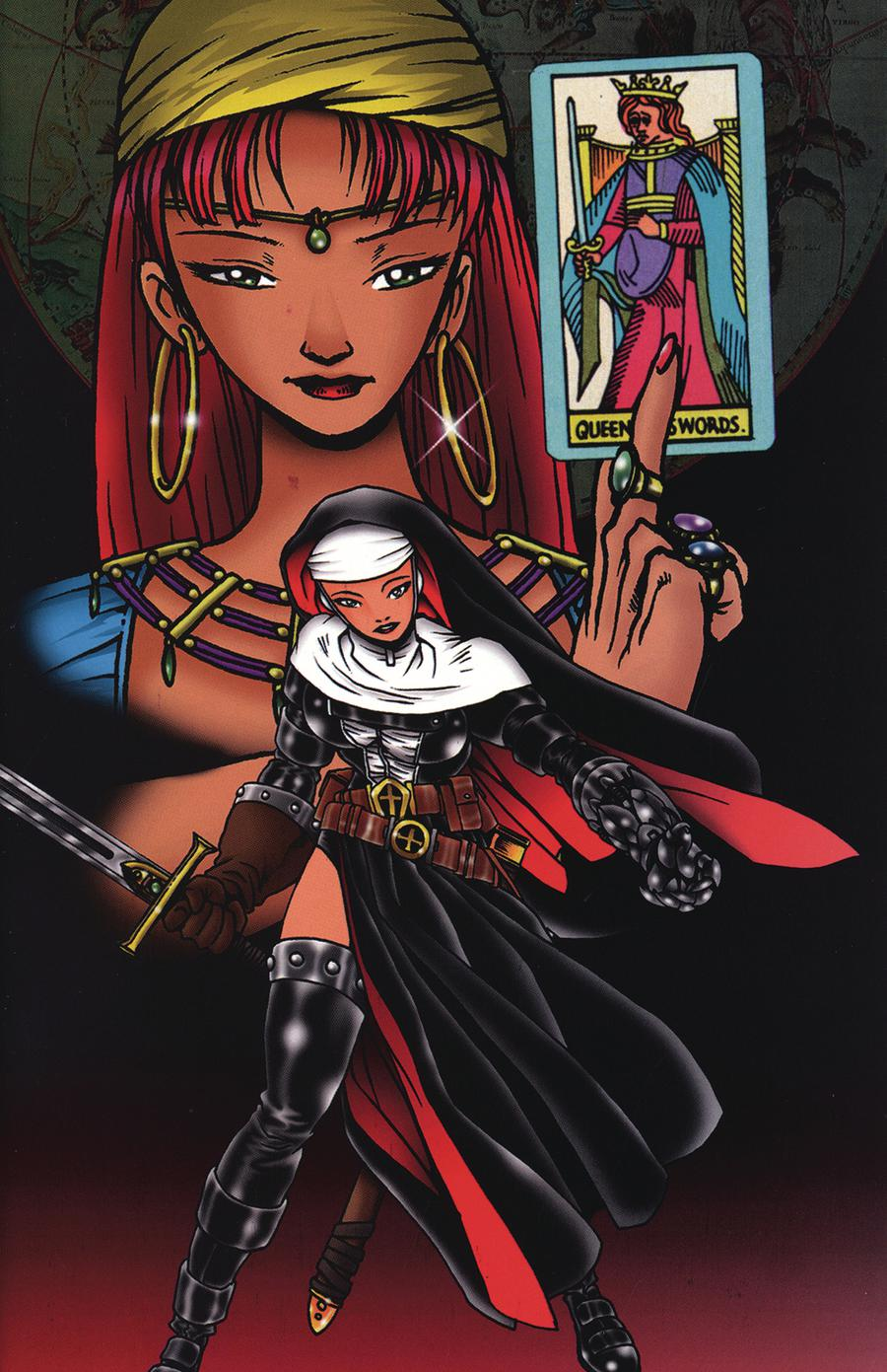 Warrior Nun Areala Scorpio Rose #1 Cover B Commemorative Cover