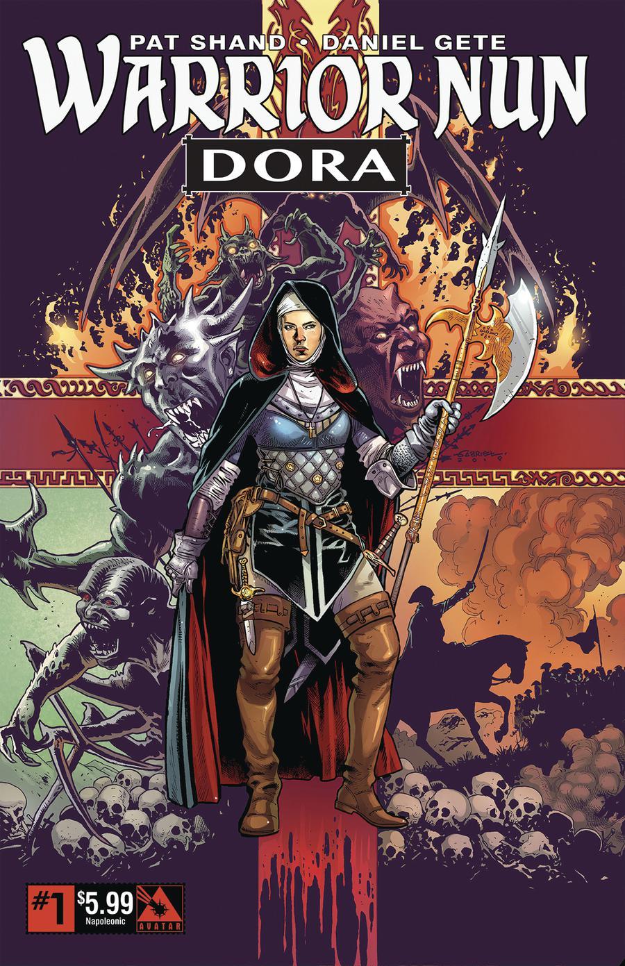 Warrior Nun Dora #1 Cover E Napoleonic Era Cover