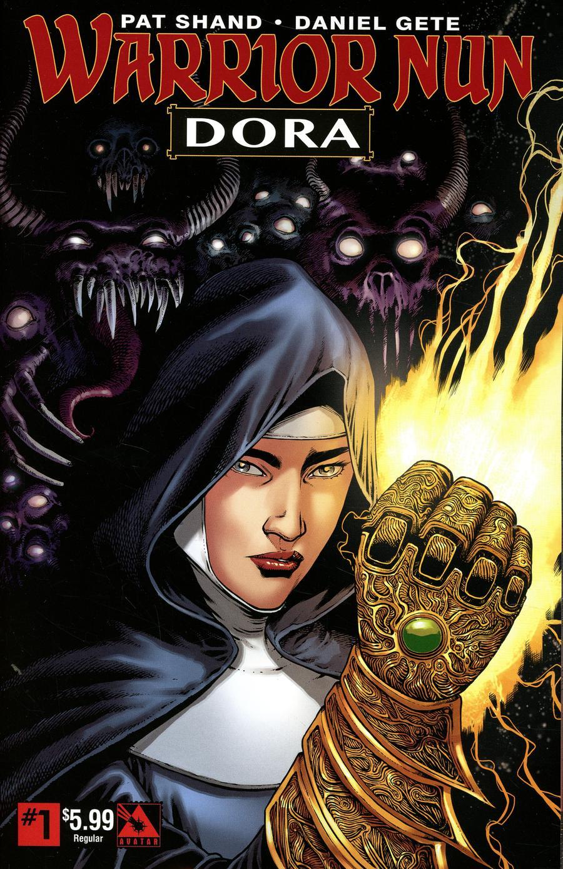 Warrior Nun Dora #1 Cover A Regular Cover
