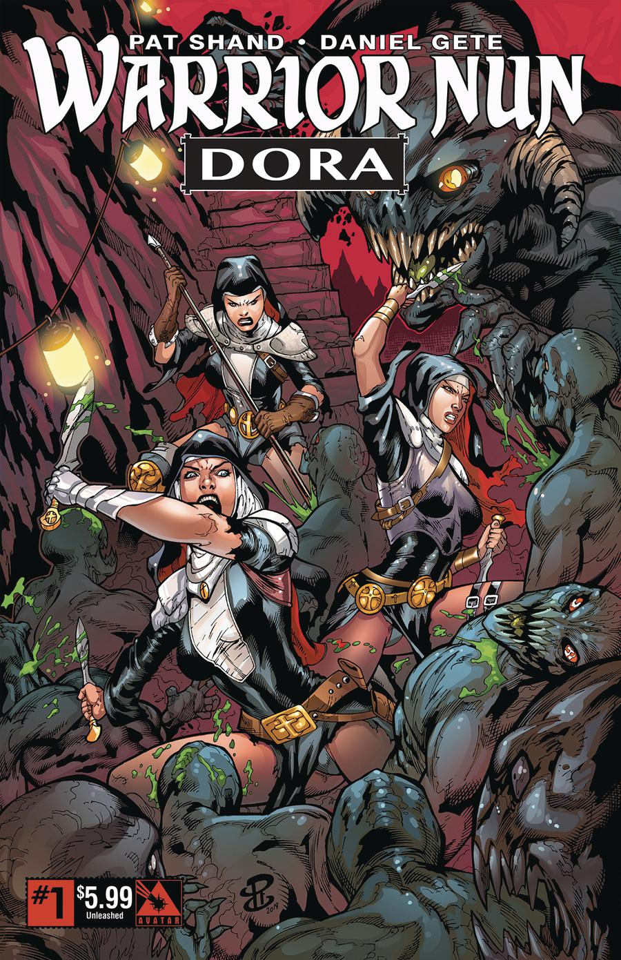 Warrior Nun Dora #1 Cover D Unleashed Cover