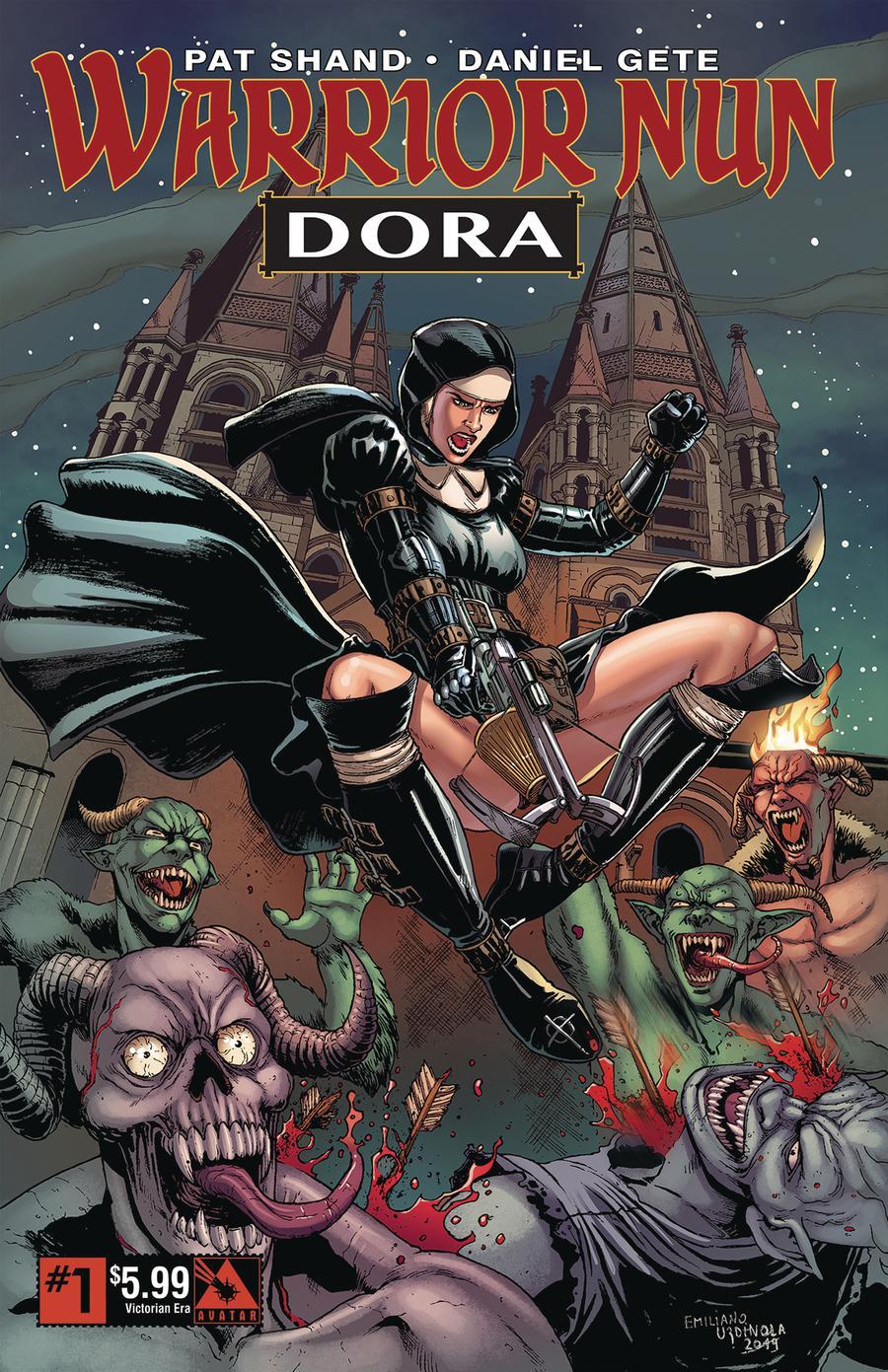Warrior Nun Dora #1 Cover G Victorian Era Cover