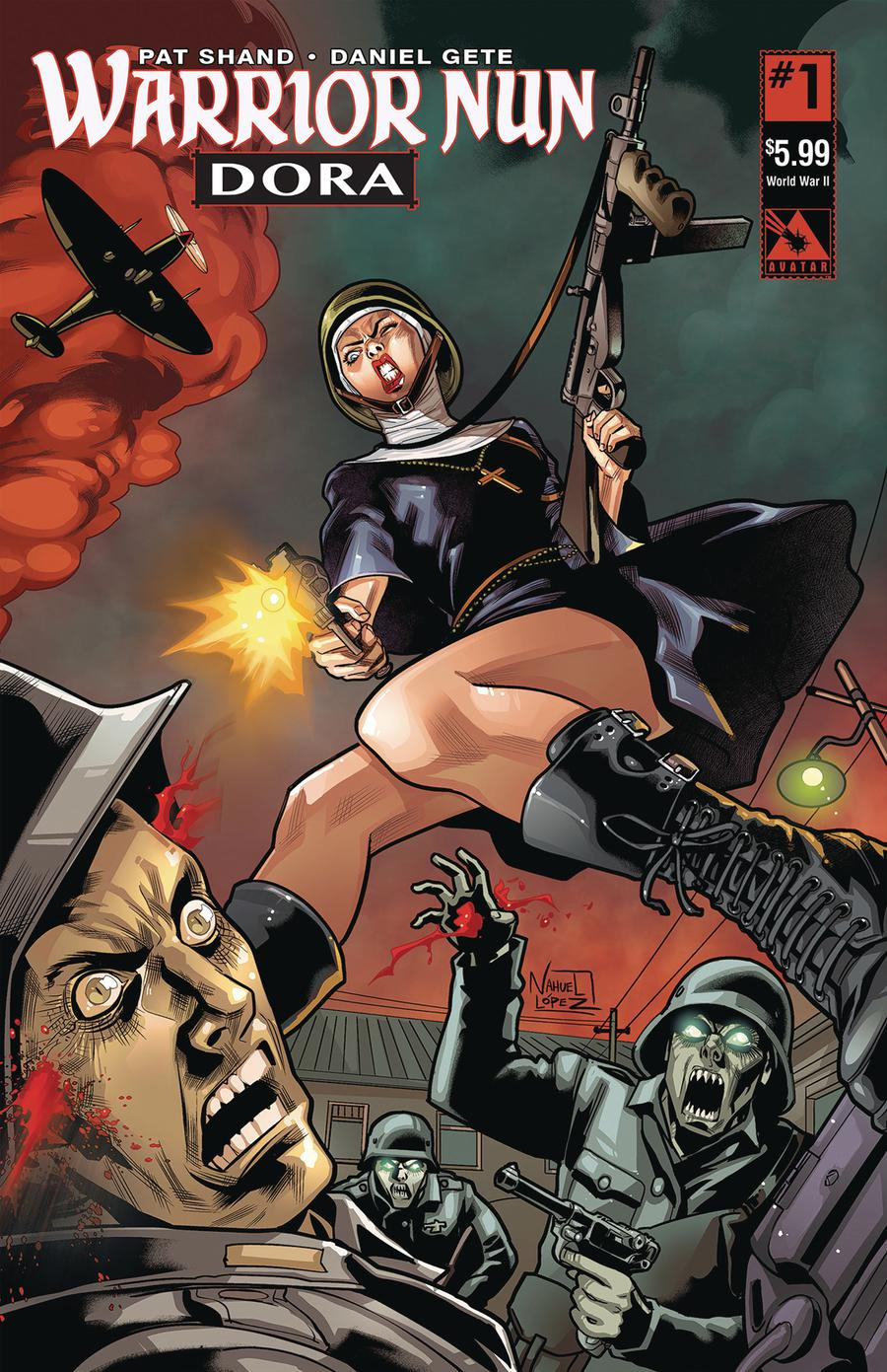 Warrior Nun Dora #1 Cover C World War II Cover