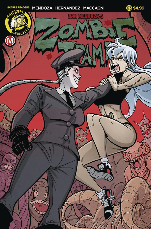 Zombie Tramp Vol 2 #63 Cover A Regular Marco Maccagni Cover