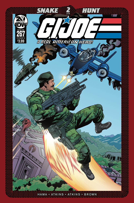 GI Joe A Real American Hero #267 Cover A Regular Robert Atkins Cover