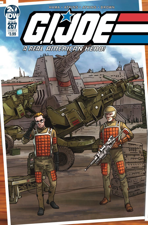 GI Joe A Real American Hero #267 Cover B Variant Jamie Sullivan Cover