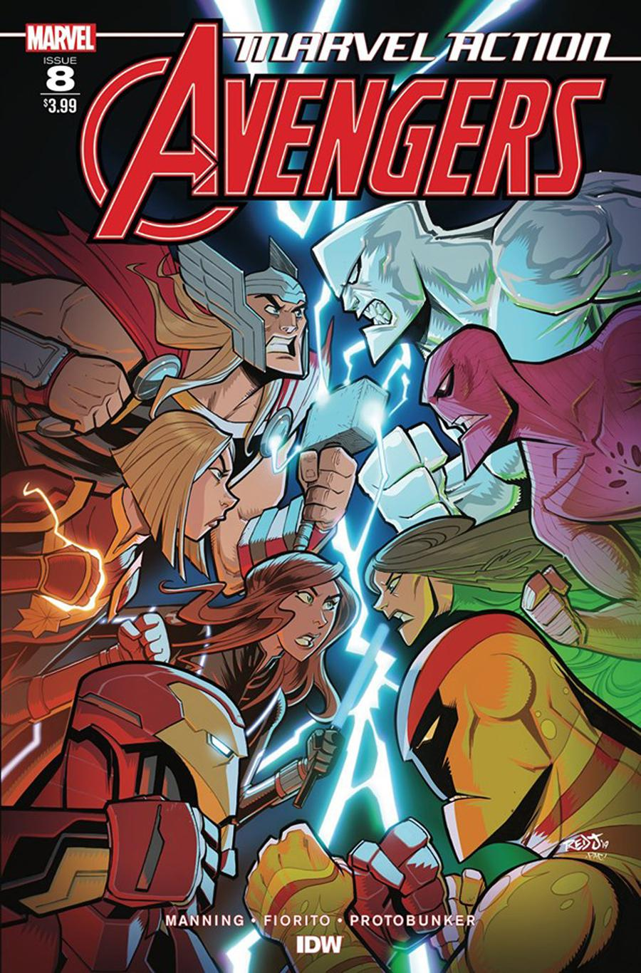 Marvel Action Avengers #8 Cover A Regular Jon Sommariva Cover
