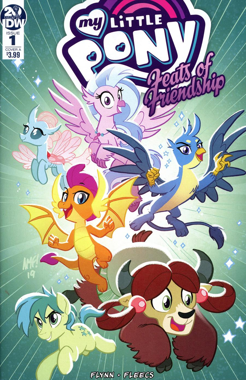 My Little Pony Feats Of Friendship #1 Cover A Regular Tony Fleecs Cover