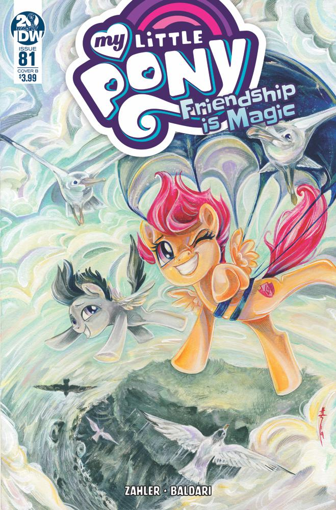 My Little Pony Friendship Is Magic #81 Cover B Variant Sara Richard Cover