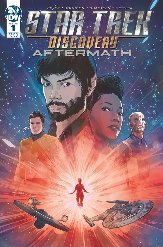Star Trek Discovery Aftermath #1 Cover A 1st Ptg Regular Angel Hernandez Cover