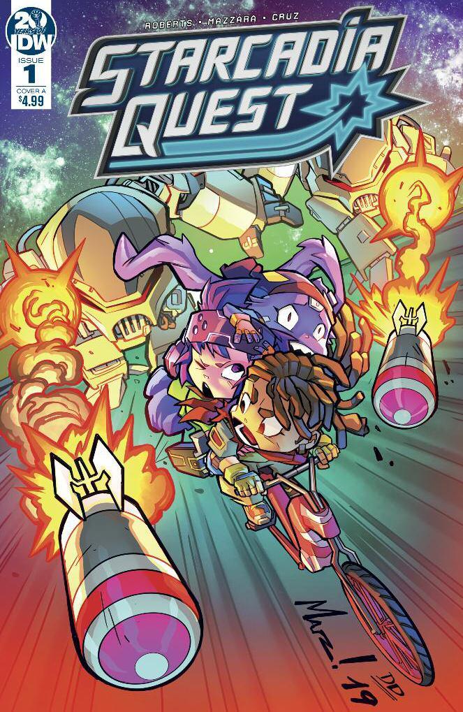 Starcadia Quest #1 Cover A Regular Aurelio Mazzara Cover